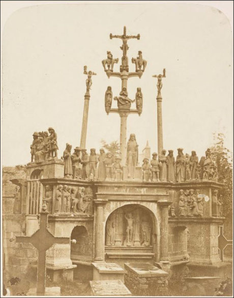 Environs de Brest, Calvaire de Plougastel - 1856