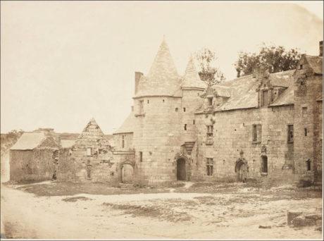 Folgoët, château de la Reine Anne 1856