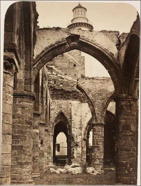 Intérieur de l'Abbaye de Saint-Mathieu - 1856