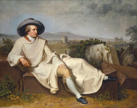 Johann Heinrich Wilhelm Tischbein - Goethe dans la campagne romaine