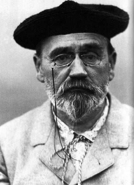 Autoportrait d'Émile Zola.