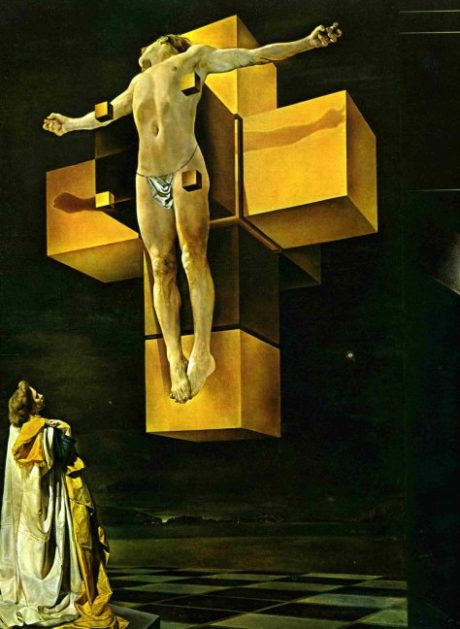 Corpus hypercubus - 1954 - Salvador Dali