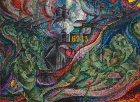 Umberto Boccioni États d'esprit I: les adieux 1911