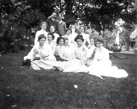 E. Alice Austen, Part of Graduating Class P.R.H.S., 1900.