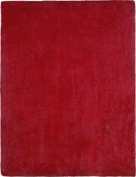 Yves Klein - Monochrome rouge sans titre 1957