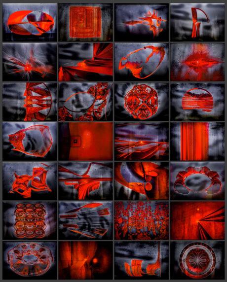 art fractal - minimalisme