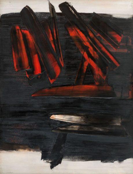 Peinture 186x143 cm, 23 décembre 1959