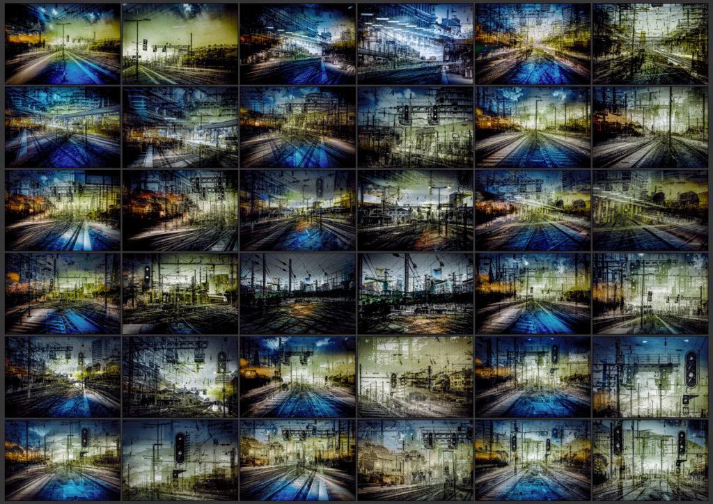 Vidéo minimaliste - Musique minimaliste - Musique concrète - Musique contemporaine -