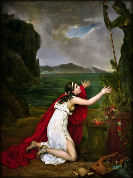 Margaritis Georgios - Sappho priant Aphrodite  vers 1843