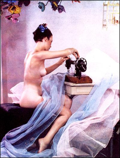 Madame Yevonde, The Machine Worker in Summer, 1937, modèle : Joan Richards, © Yevonde Portrait Archive