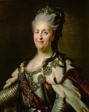 Ermitage - Catherine II Johann Baptist von Lampi the Elder