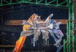 Atelier de mécanique : une démolition positive