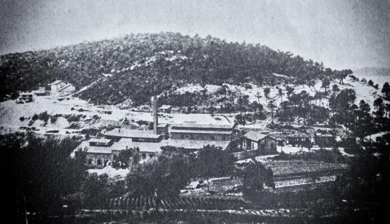 Mine de Cap Garonne