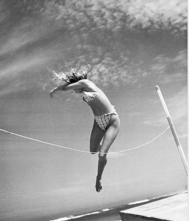 Denise Bellon saut en hauteur 1938