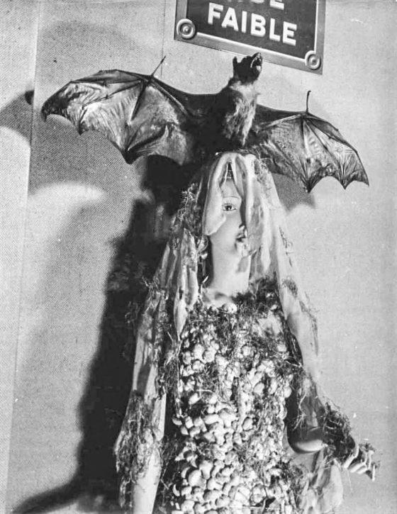 Denise Bellon Lot #250 Mannequin de Wolfgang Paalen , 1938 gelatin silver print
