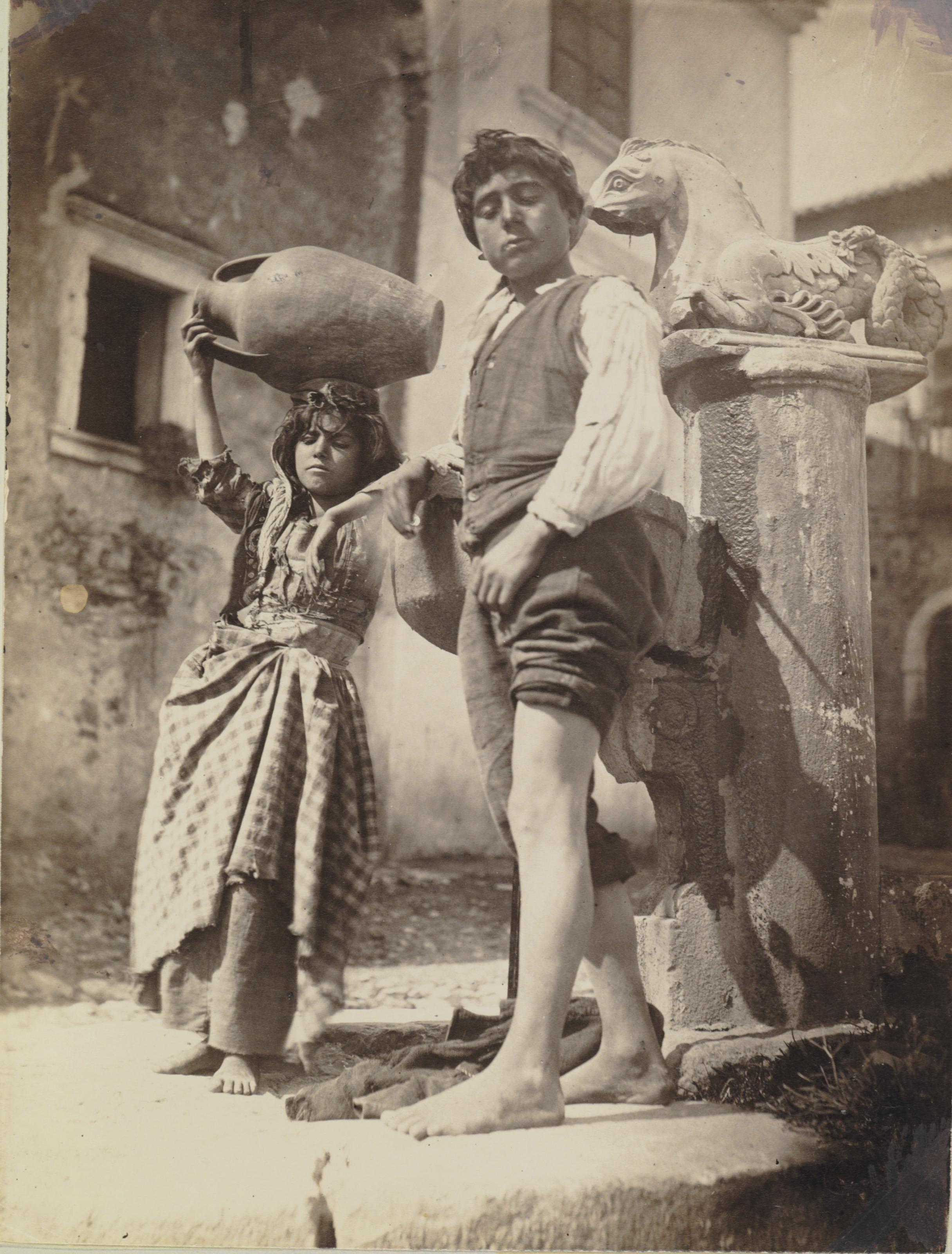 2012 NYR 02603 0120 000baron wilhelm von gloeden two sicilian youths c 1916