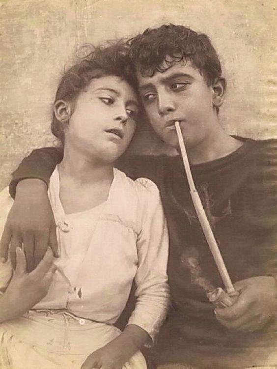 Baron Wilhelm von Gloeden Taormina Sweethearts 1895