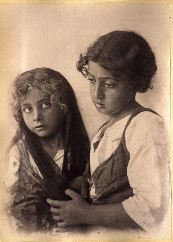 Wilhelm von Gloeden - Bambine di Capri