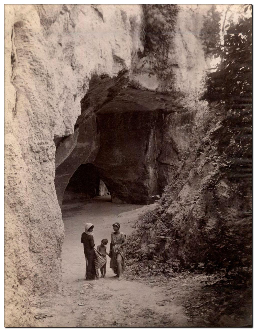 Italia Latomie dei cordai Siracusa 1903