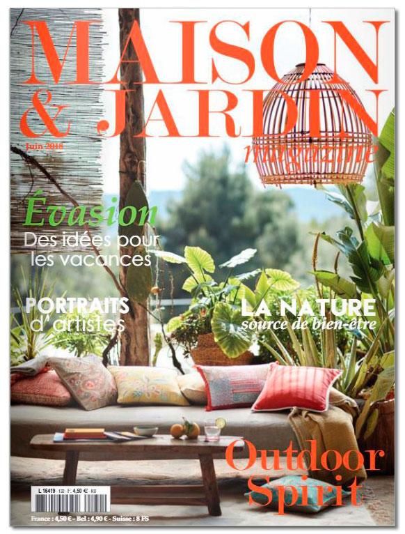 Maison & Jardin Juin 2018 - Lovisolo Frank