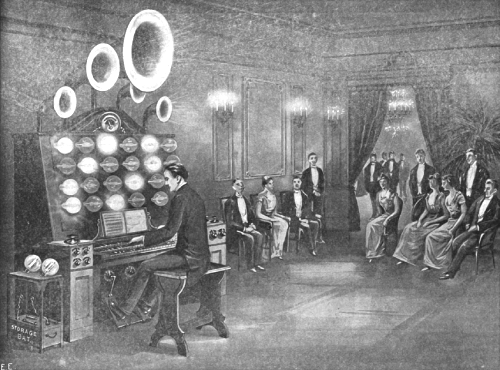 L'Audion Piano - Vue Artistique -Synthèse sonore