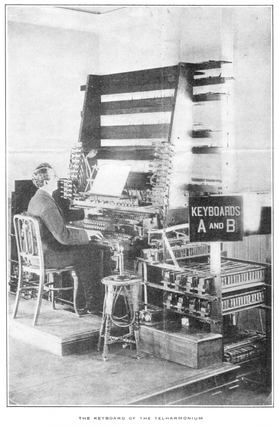 Telharmonium Synthèse sonore