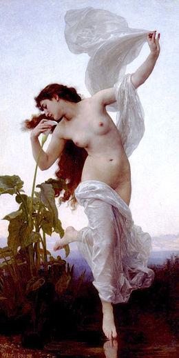 260px William Adolphe Bouguereau 1825 1905   Dawn 1881